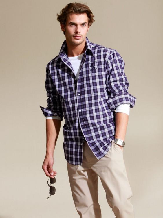 tenue-homme-pour-evenement-chemise-carreaux-decontractee