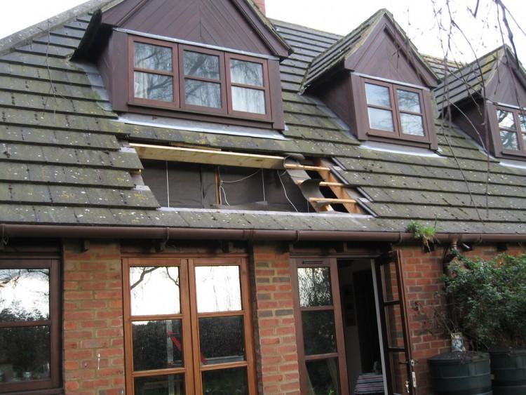 travaux de toiture de bâtiment professionnel