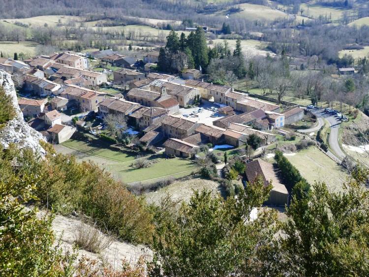 Des maisons typiques de l'Hérault